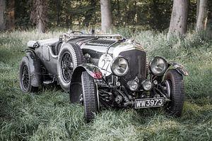 Vintage Bentley 1928 van