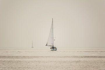 Zeilboot op weg naar ... van Cathy Php