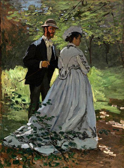Bazille en Camille, Claude Monet