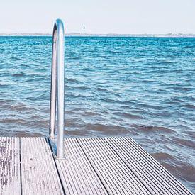 Badetreppe an der Ostsee von Heiko Westphalen