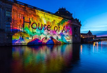 Bodemuseum Berlin in besonderem Licht von Frank Herrmann
