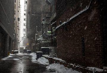 'Stoom en sneeuw', Chicago van Martine Joanne