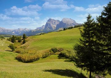 Dolomieten Landschaft. von Jurgen Maassen
