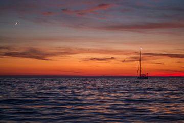 zonsondergang von Bjorn Brekelmans