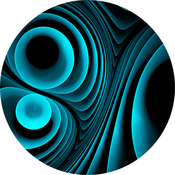 Melody in blauw van Max Steinwald
