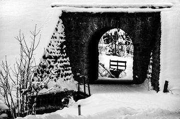 Kandersteg Tunnel van Ivo Ketelaar