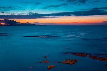 Gran Canaria in het Blauw van Gustavo Gonzalez