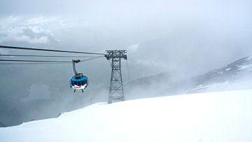 Sneeuw op Titlis von Vincent van Kooten