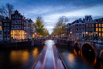 De grachten van Amsterdam van Frank Verburg