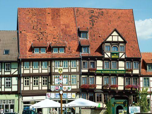 Oud hotel Duitsland