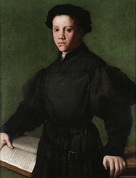 Porträt von Lorenzo Lenzi, Bronzino