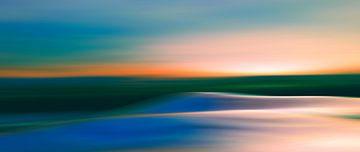 Couleurs du coucher du soleil 3 von Angel Estevez