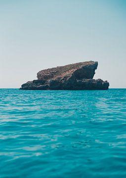 Blue Lagoon Comino, Malta van Dayenne van Peperstraten
