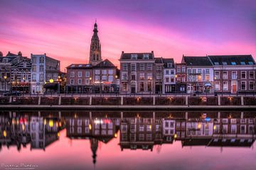 Grote kerk Breda: Temidden van de Paarse Heide van Martijn Mureau