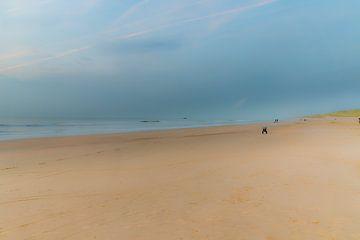 Strand bij Castricum van Apple Brenner