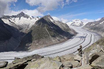 Aletschgletscher in der Schweiz von Sander van Doeland