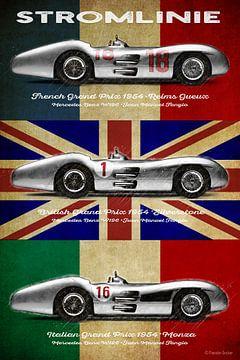 W196 Stromlinie, Juan Manuel Fangio von Theodor Decker