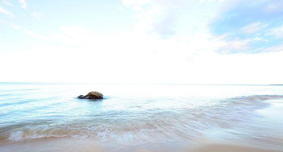 Stein im Meer