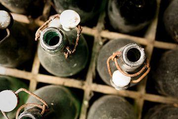Alte Flaschen von Vincent van Kooten