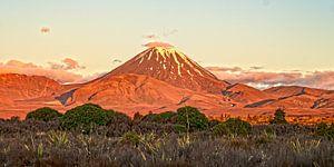 Zonsopgang bij Mt. Tongariro van Stefan Havadi-Nagy
