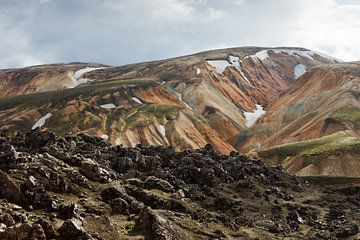 Landmannalaugar - Iceland van Arnold van Wijk