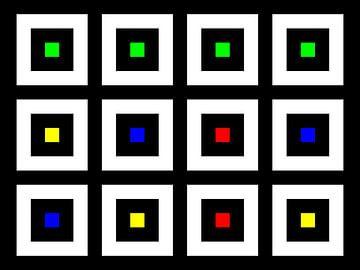 Nested | Center | 04x03 | N=02 | Random #10 | RGBY van Gerhard Haberern