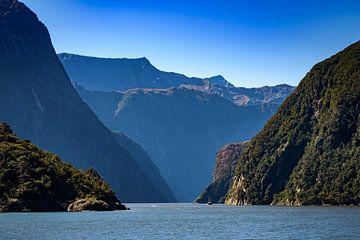 Die Fjorde von Fiordland Nationalpark , Neuseeland von Rietje Bulthuis