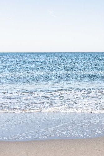 Drieluik van de Noordzee en het Scheveningse strand. 1 van 3.