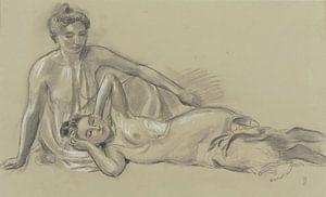 Zwei weibliche Akte, Maurice Denis