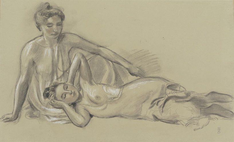Zwei weibliche Akte, Maurice Denis von Atelier Liesjes