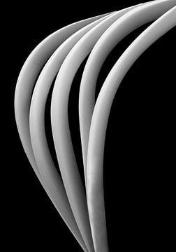 Papier-Kunst vertikalen  von Carolien van den Brink