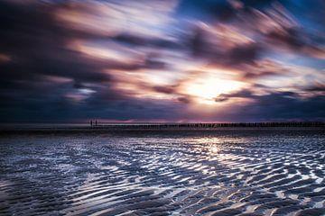 Sunset Zoutelande von Tonia Beumer