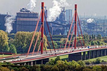 Beeckerwerther Brücke in Duisburg (7-27903) von Franz Walter