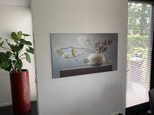 Klantfoto: Stilleven Carpe Diem I van Willy Sengers, op aluminium
