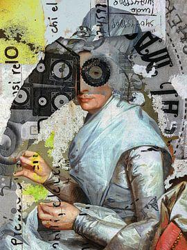 The old Lady von Gabi Hampe