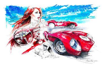 Ferrari Testarossa 250 (1956) von Martin Melis