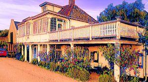 Oud karakteristiek huis Edam