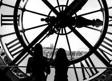 Tijd vliegt in Parijs von Emil Golshani