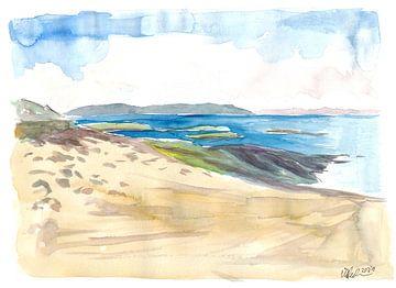 Onvergetelijke zeegezichten en kustlijnen van de Ring of Kerry van Markus Bleichner