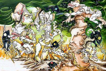 Chung, Chao-Yi schilderkunst van Atelier Liesjes
