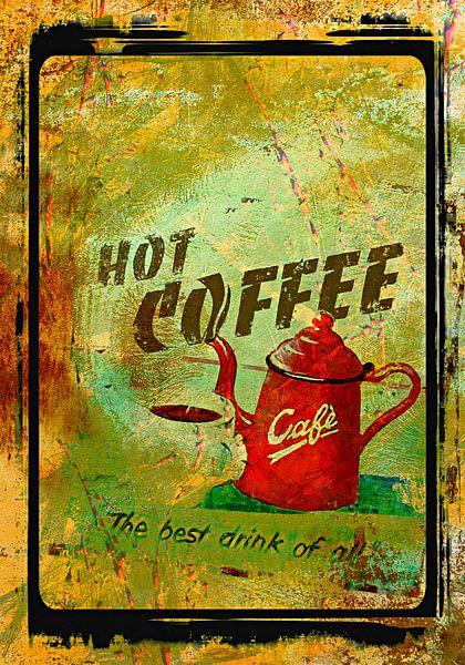 Hot coffee von PictureWork - Digital artist