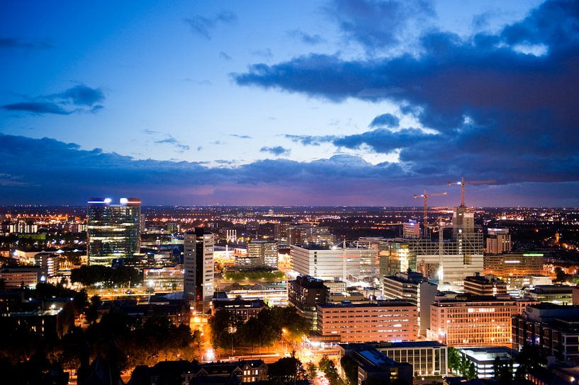 Uitzicht op Utrecht vanaf de Domtoren van Chris Heijmans