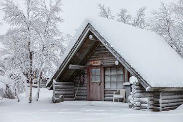 Finnland, Holzhütte von Frank Peters