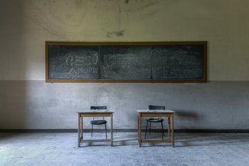 pupitres d'école sur Kristof Ven