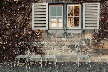 antieke stoeltjes van Huib Vintges