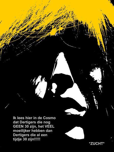 Dolende Dertigers: Het Moeilijk Hebben! van MoArt (Maurice Heuts)