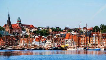 Traditionssegler im Flensburger Hafen von Heiko Westphalen