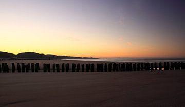 Sonnenaufgang Zeeuwse Rivièra von MSP Canvas