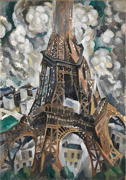 Der Eiffelturm, Robert Delaunay