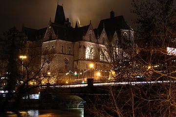 Avondsfeer in Marburg an der Lahn van Jürgen Schmittdiel Photography